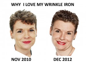 Ann after 2 yrs wrinkle iron